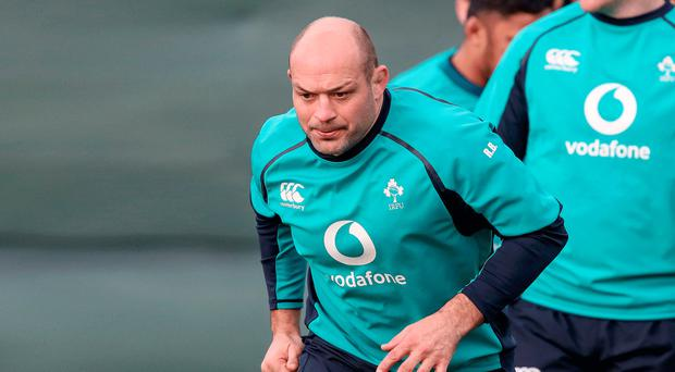 Going strong: Rory Best is ready for Six Nations battle