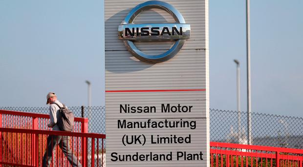 Losing out: Sunderland factory