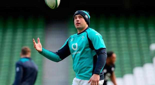 CJ Stander faces missing Ireland's next two Six Nations games.