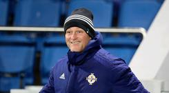 Contender: Jim Magilton is in the frame for Hibs job