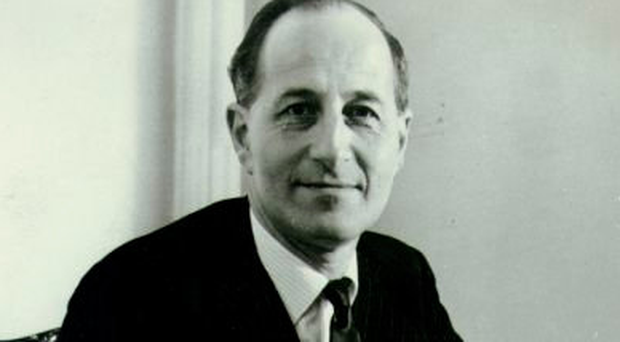Former Prime Minister Terence O'Neill, an Ahoghill native