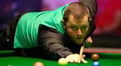 Controversial exit: Mark Allen handed the match to Ali Carter when he could have still triumphed