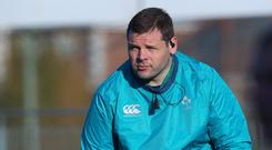 Tactician: Ireland's Mike Ross