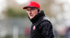 Tyrone manager Mickey Harte