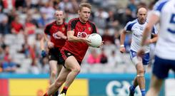 Hot shot: Caolan Mooney can fire Down once again