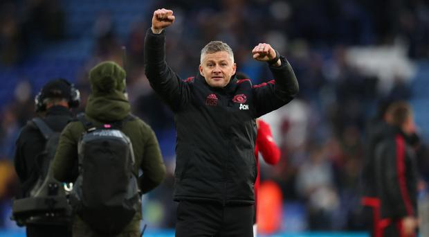 Just tops: Ole Gunnar Solskjaer