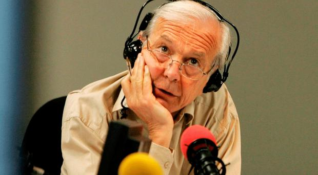Host of Radio Four's Today programme John Humphrys