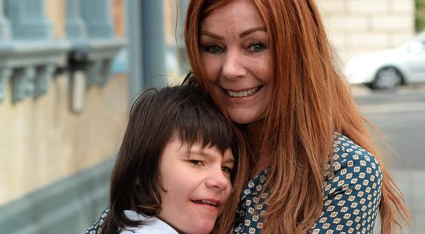 Tyrone teen Billy Caldwell with mum Charlotte. He can now be prescribed medicinal cannabis oil