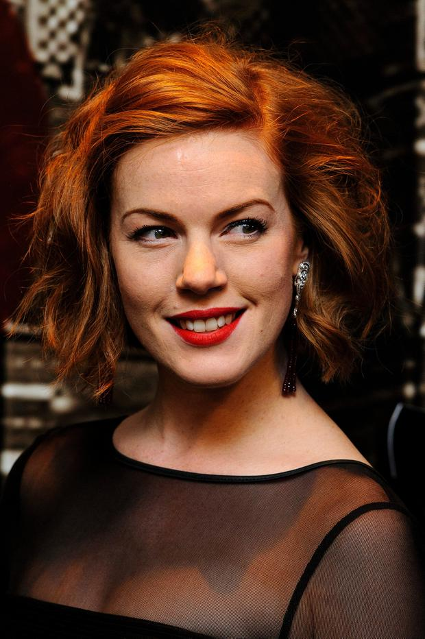 Niamh Mcgrady attends the Specsavers Crime Thriller Awards at The Grosvenor House Hotel on October 24, 2013 in London, England. (Photo by Ben A. Pruchnie/Getty Images)