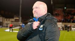 David Jeffrey is determined to lead his side into the Irish Cup quarter-finals tonight.
