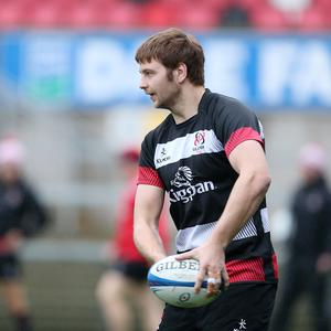 Road to recovery: Iain Henderson is back in training with Ulster