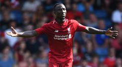 Stepping up: Pool's Naby Keita has showed some form at last, and Jamie Carragher thinks the club have been excellent