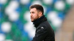 Serious business: Warrenpoint Town boss Stephen McDonnell