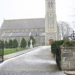 St Patrick's Church in the village of Killygordon. Image source Google