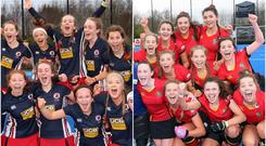 Ballyclare High School (left) and Banbridge Academy will meet in the Schools' Cup final.