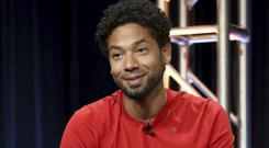 Jussie Smollett said he had been 'forever changed' in his first interview being attacked (Willy Sanjuan/Invision/AP)