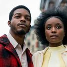 High praise: Stephan James as Fonny Hunt and KiKi Layne as Tish Rivers