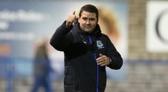 Rallying call: David Healy is focused on delivering glory