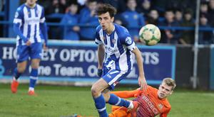 Loving life: Jamie Glackin is savouring new chapter at Coleraine