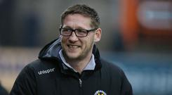 Dungannon Swifts manager Kris Lindsay