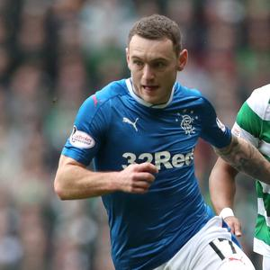 Ankle woe: Lee Hodson has returned to home club Rangers after being injured while playing on loan for rivals St Mirren
