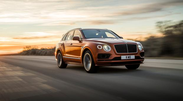 Bentley Bentayga Speed. Photo: James Lipman / jameslipman.com