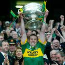 Mixed emotions: Kerry's Dara Ó Cinneide lifts Sam Maguire in 2004