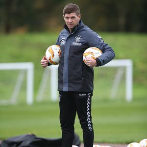 Players out: Steven Gerrard may have to make changes