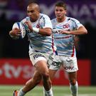 In wilderness: Simon Zebo had the Ireland door slammed shut after moving to Racing 92