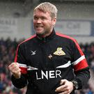 Bring it on: Grant McCann is relishing Palace battle