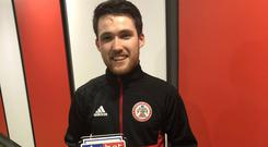 Paul Smyth was named Man of the Match.