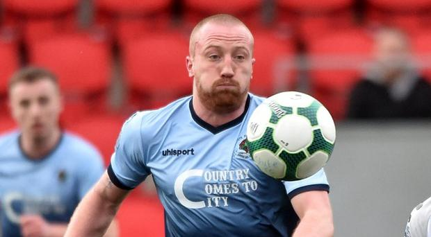 Thomas McBride's substitution is being investigated by the NI Football League.