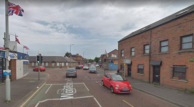Woodstock Road, east Belfast. Credit: Google Maps