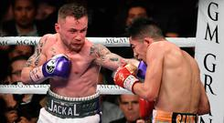 Desert storm: Frampton and Santa Cruz do battle in Las Vegas