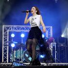 Lauren Mayberry from Chvrches performing at TRNSMT festival last year (Jane Barlow/PA)