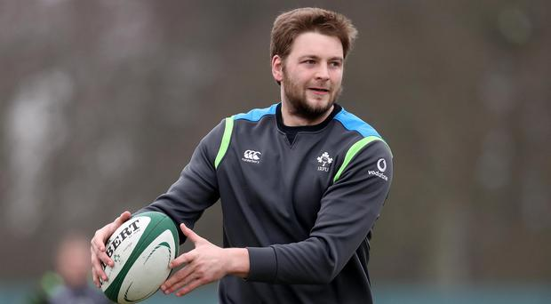 Iain Henderson will be available for Ireland's game in Rome this weekend.