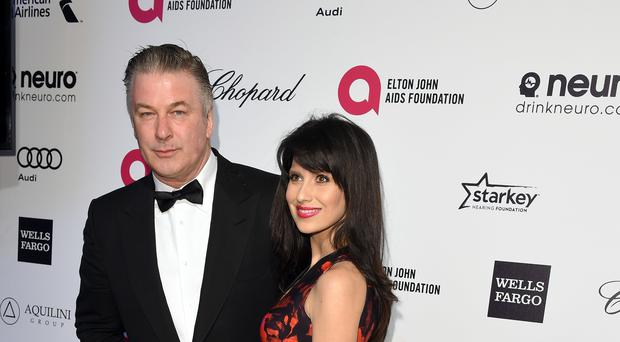 Alec Baldwin paid tribute to his wife Hilaria eight years to the day since they met in New York (PA)