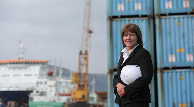 Clare Guinness, CEO of Warrenpoint Port