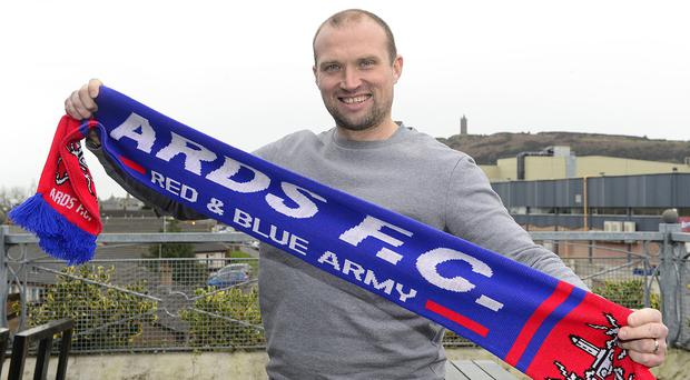 Former Northern Ireland striker and Linfield manager Warren Feeney announced as new Newtownards FC manager. Picture By: Pacemaker Press.