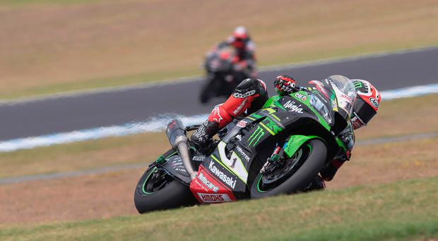 Jonathan Rea at Phillip Island