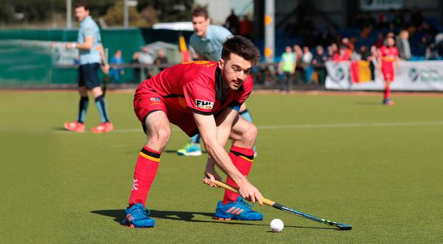 Key role: Banbridge's Johnny McKee will be looking for goals in the double-headers this weekend