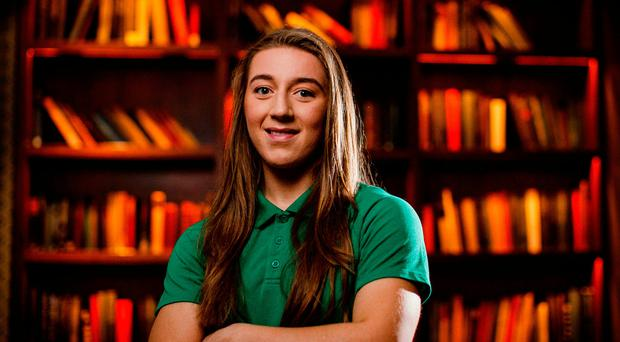 On the up: Claire Boles is making impact with Ireland