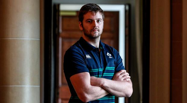 Big boost: Iain Henderson is free to face Italy on Sunday