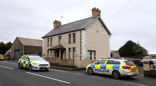 The man whose body was found at his County Antrim home after he was shot was David Hugh Murphy. PACEMAKER BELFAST 20/02/2019
