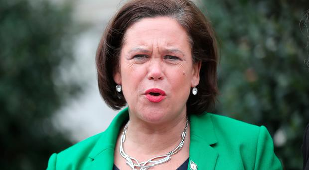 Mary Lou McDonald attended a gathering of 'civic unionists' in Belfast