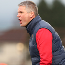 Ard to take: Despite his best efforts Colin Nixon was shown the door by Ards