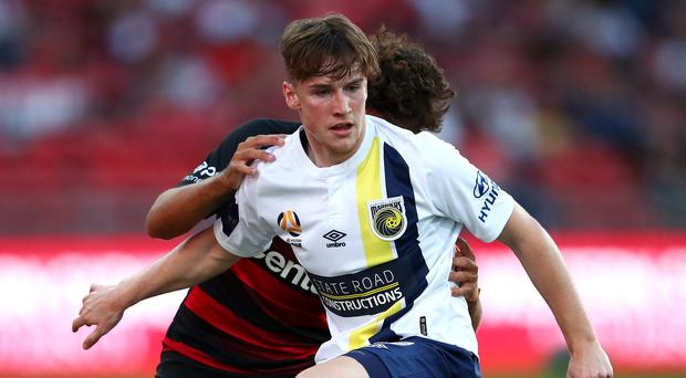 Stephen Mallon came on as a substitute against Western Sydney Wanderers earlier this month and was handed his first start last weekend.