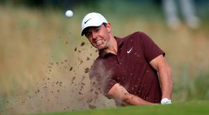 Taking a break: Rory McIlroy will not play at the Irish Open this summer