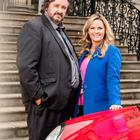 Jo Joyner and Mark Benton are back with daytime detective drama Shakespeare & Hathaway