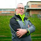 Tough trip: Antrim boss Neal Peden wants a change of luck